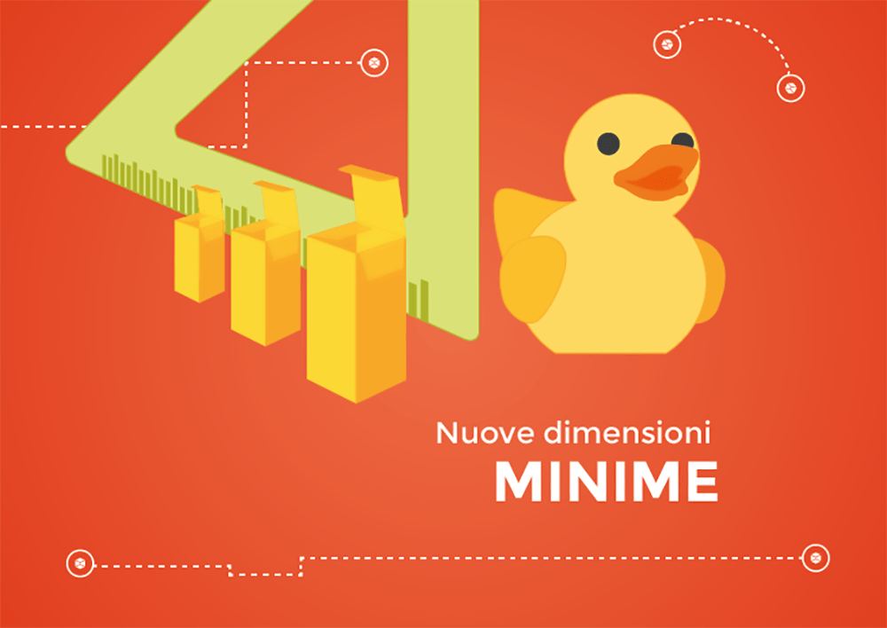 Packly nuove dimensioni minime