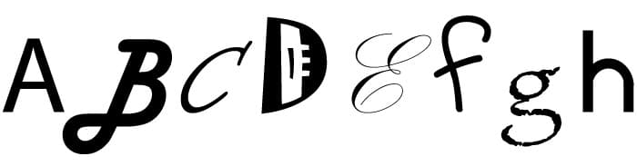 font-design-packaging