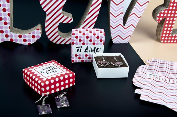 packaging san valentino personalizzati