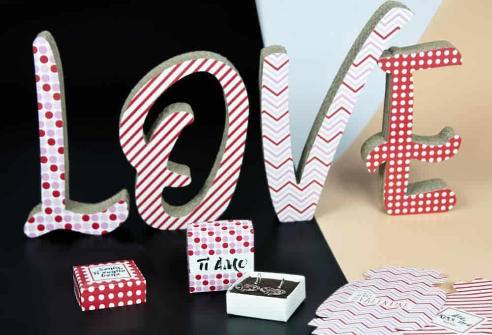 scatole per orecchini san valentino