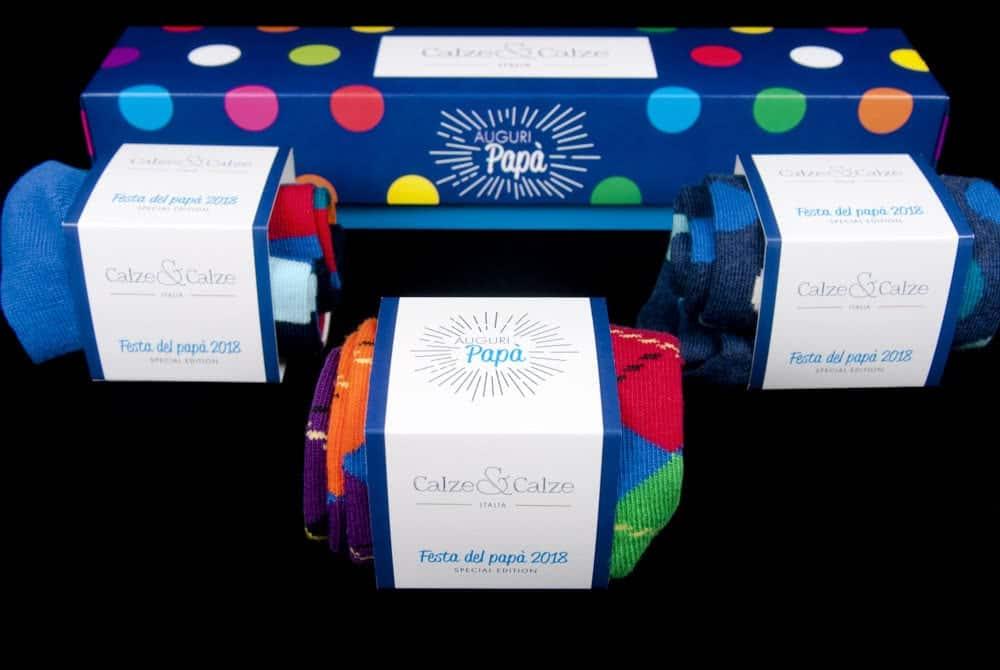 packaging per calze festa del papà