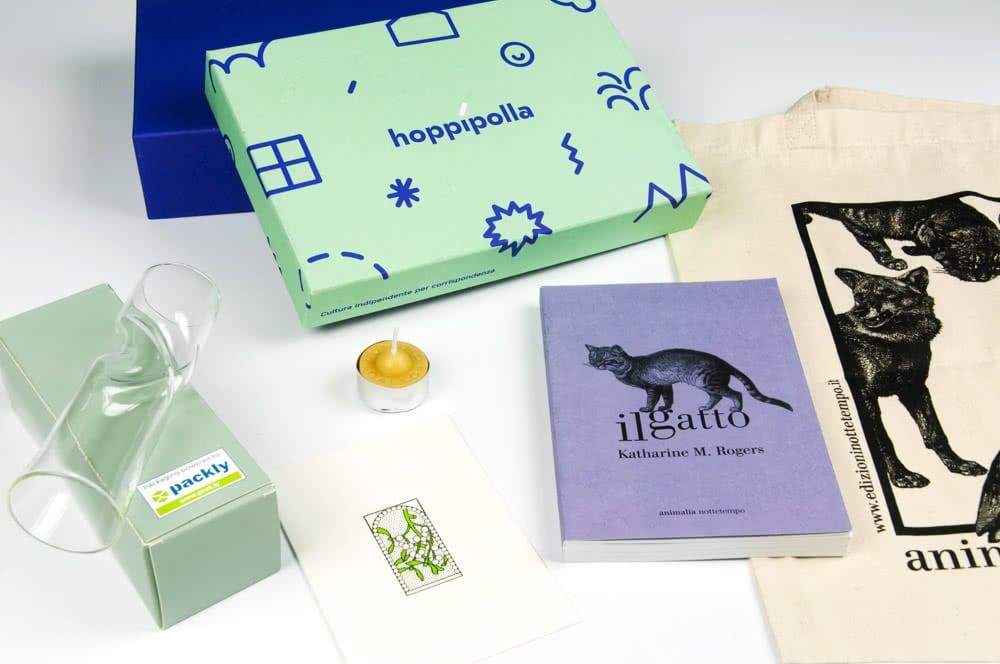scatole personalizzate hoppipolla indie