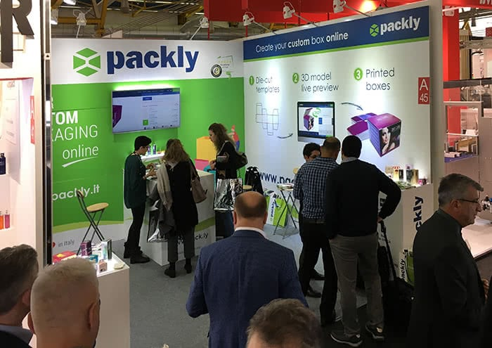 packaging fairs comsopack packly