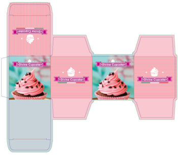packly custom cupcake box