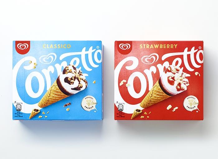 cornetto-algida-new ice cream packaging design