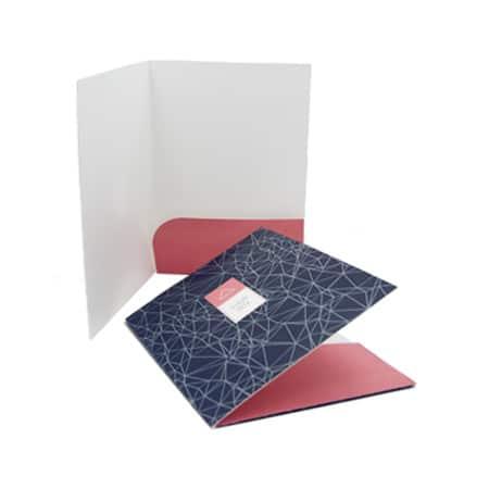 custom folder online printing