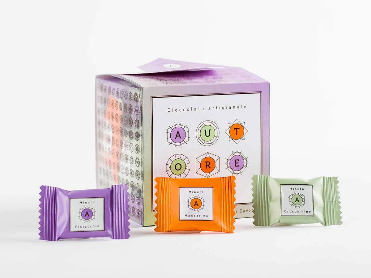 packaging per croccantini d'autore