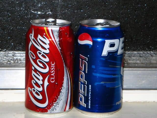 pepsi coca cola grafica fresh