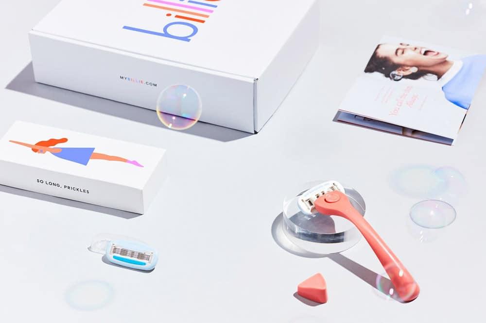 razor packaging billie pink tax