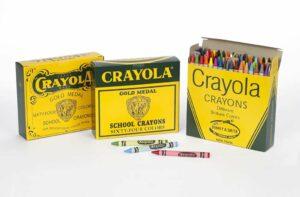 Packaging e branding: le confezioni per pastelli Crayola