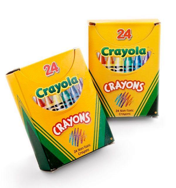 crayon boxes crayola