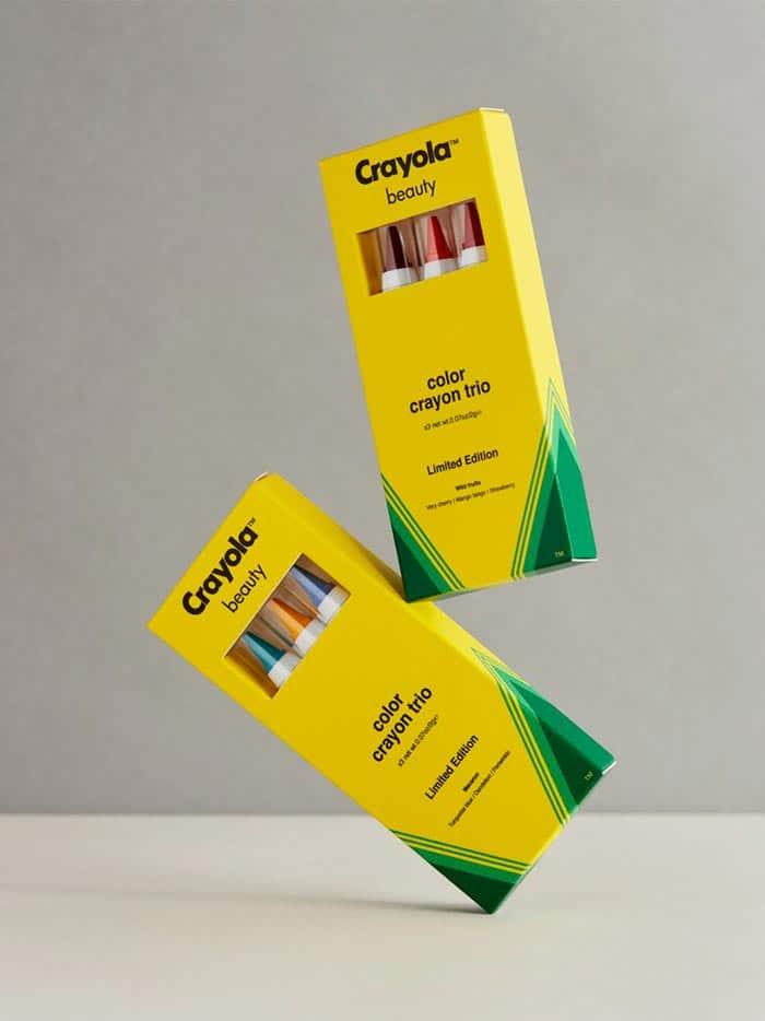 makeup line crayola pencil box design