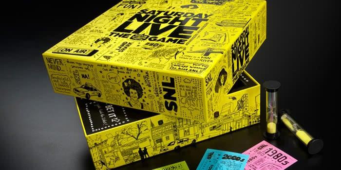 SNL custom board game packagings