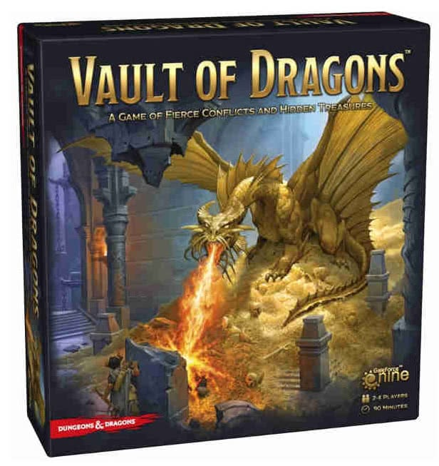 dungeons and dragons board game boxes
