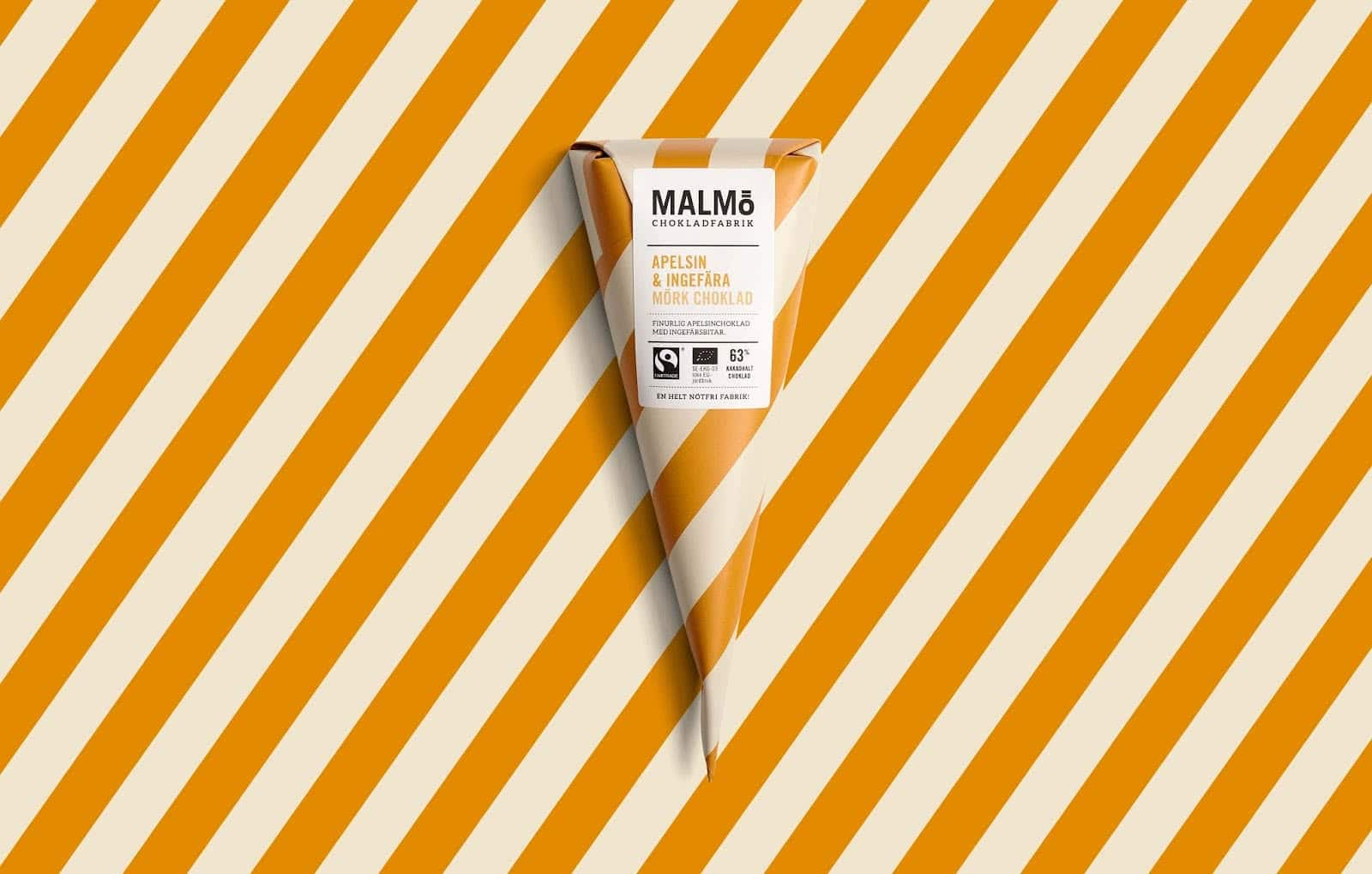 pond-design-malmo-chokladfabrik striped packagings