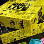 scatole per giochi da tavolo personalizzate SNL