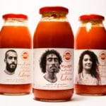 label packaging design sfruttazero tomato sauce