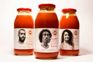 Packaging e storytelling: la salsa di pomodoro SfruttaZero