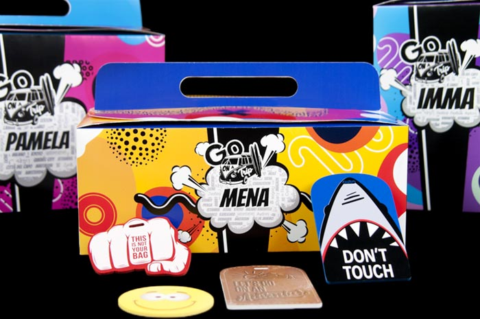 viscom italia go on a trip packaging personalizzato