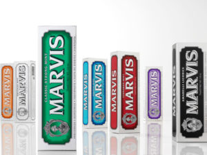 Toothpaste packagings with a dazzling vintage look!