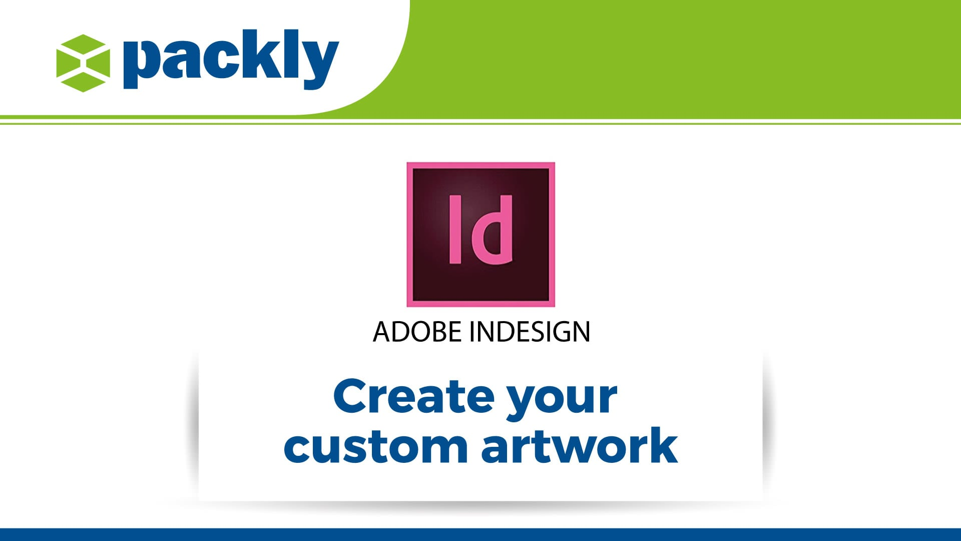create custom graphic design packaging with InDesign