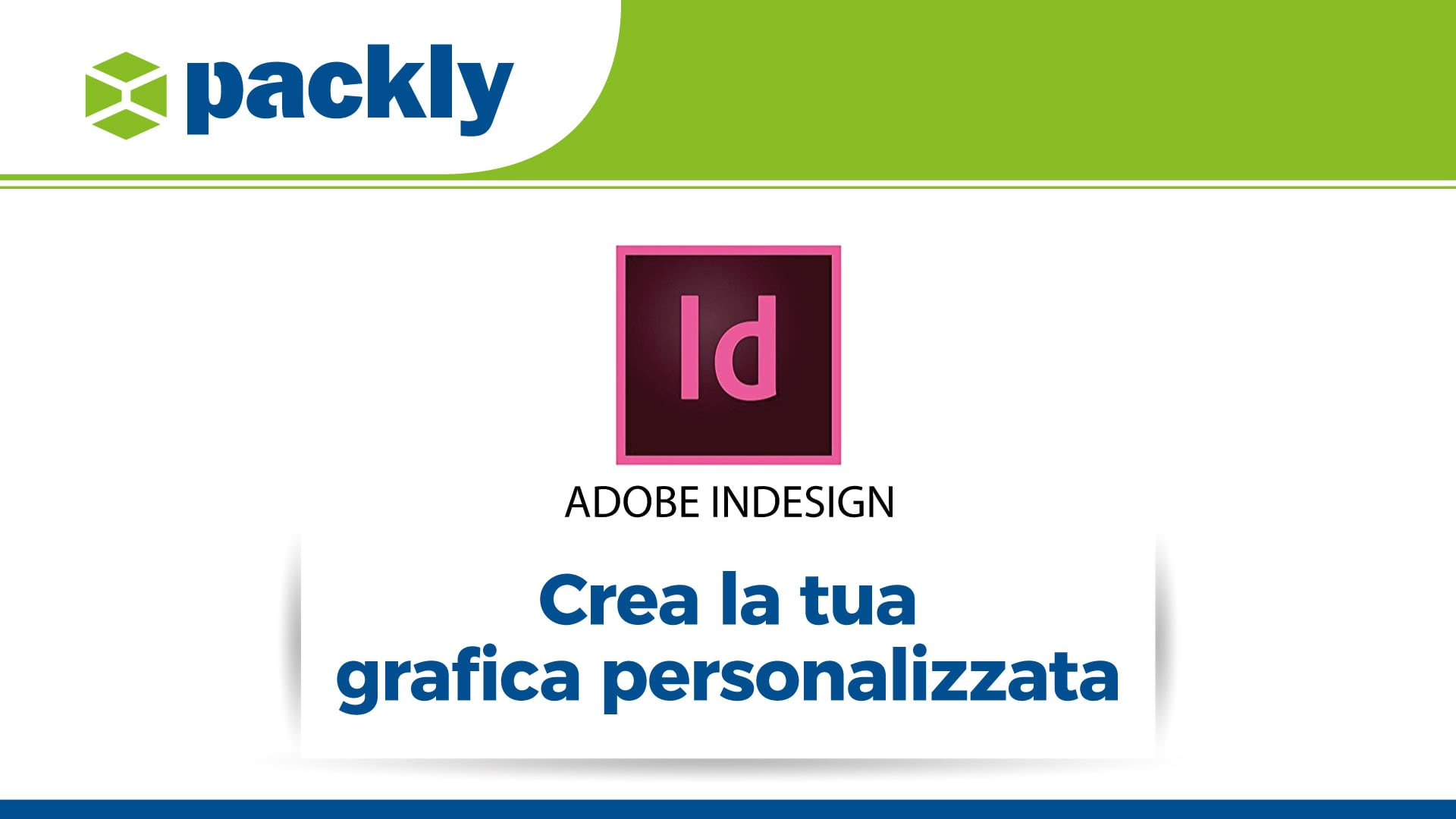 grafica personalizzata scatole con indesign
