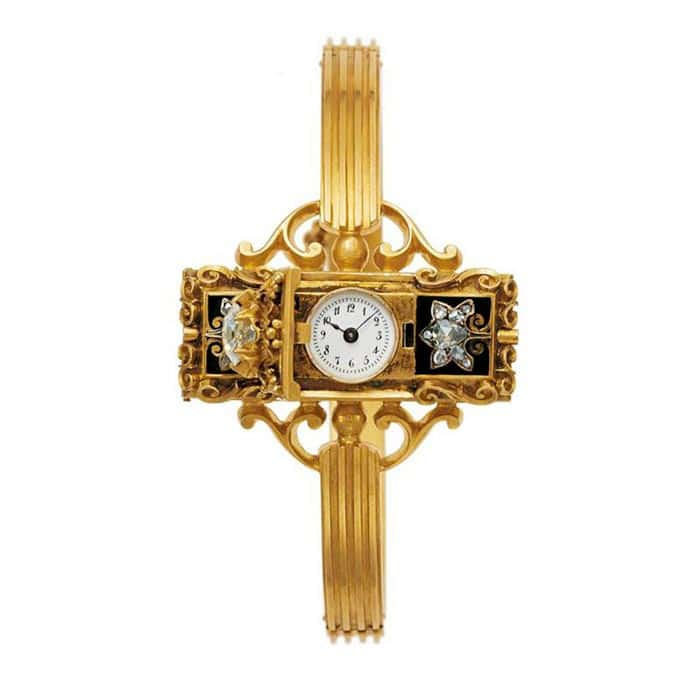 Countess Koscowicz of Hungary patek philippe first wristwatch