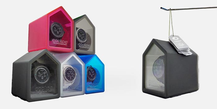 cookoo wristwatch custom boxes