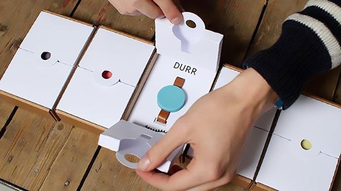 creative design wristwatch boxes