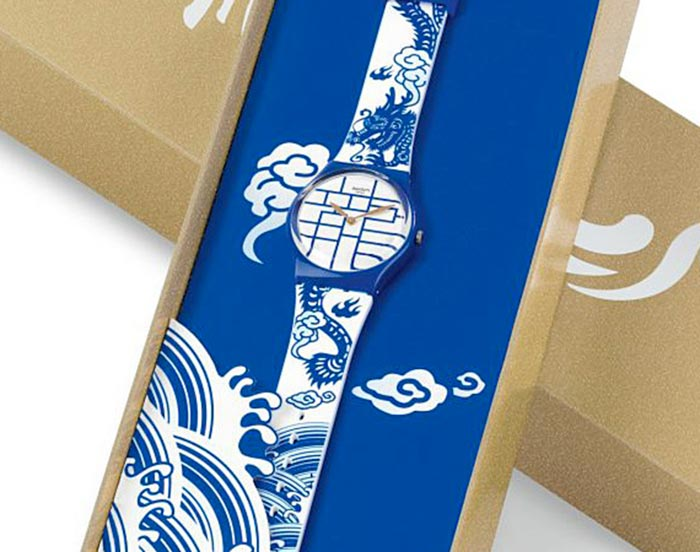 creative packaging design for swatch