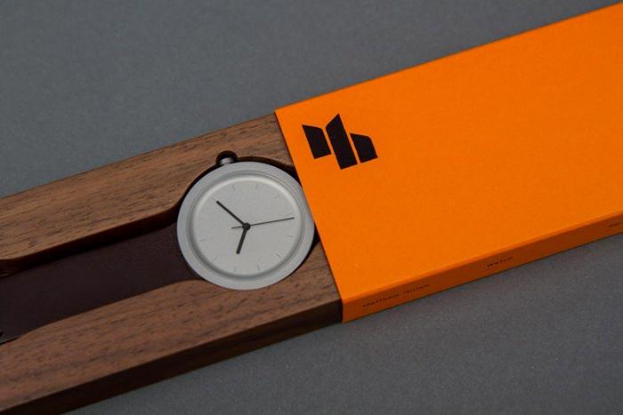 elegant wristwatch package