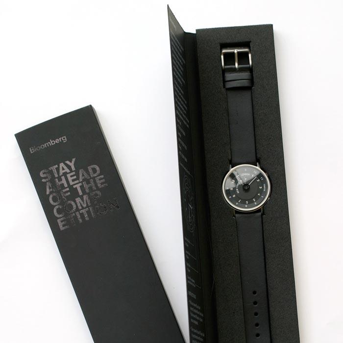 original and creative design box watch