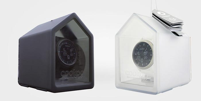 packaging design cookoo wristwatches