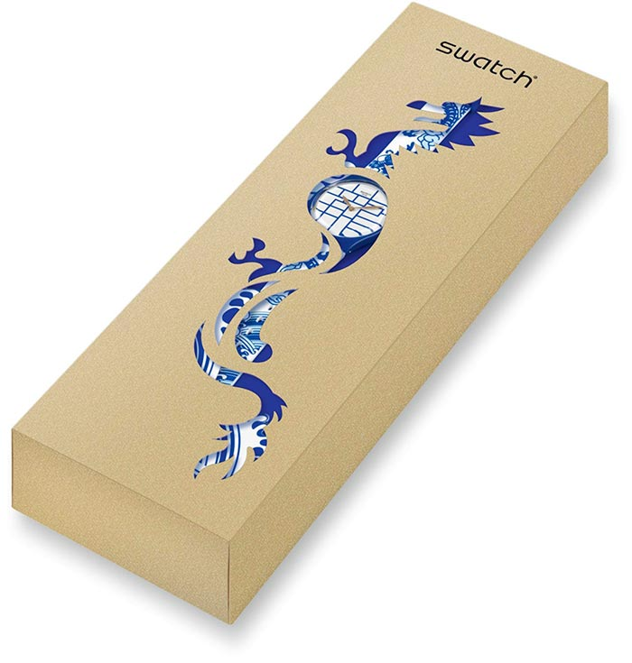 year of the dragon swatch packaging limited edition