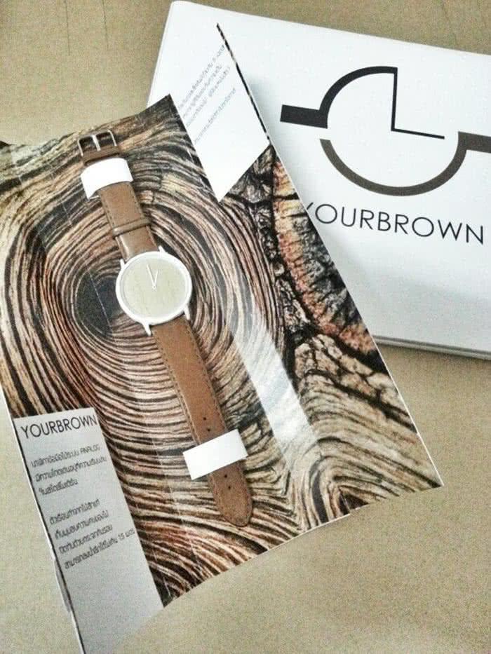 yourbrown-creative wristwatch box