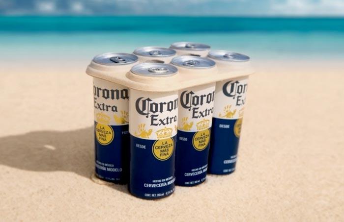 corona sustainable packaging plastic-free rings