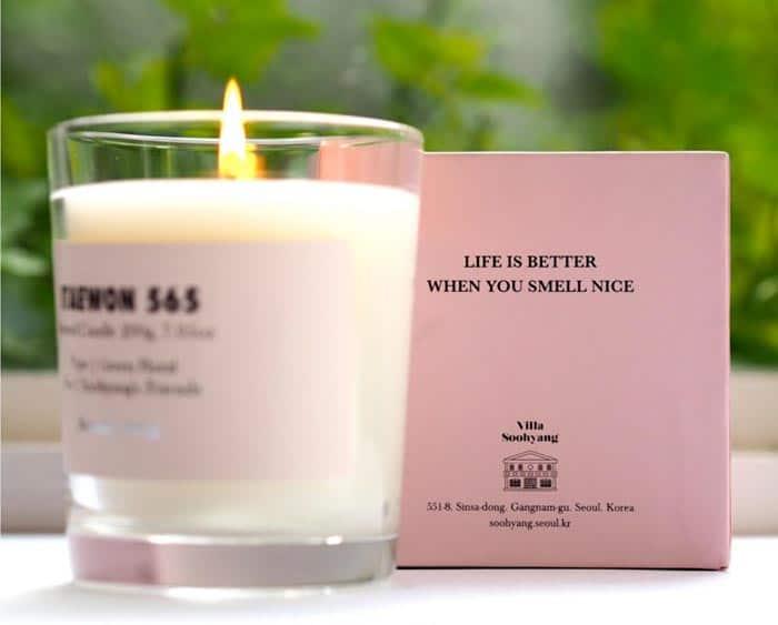 perfumed candles custom box