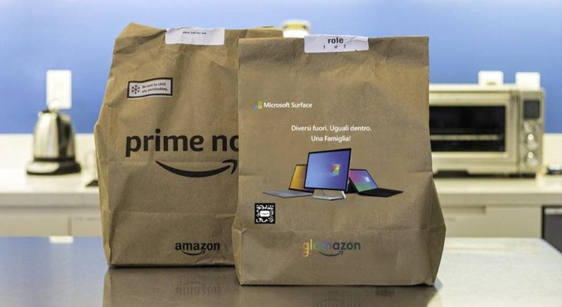 Special shoppers for the Pride by Amazon Prime Now