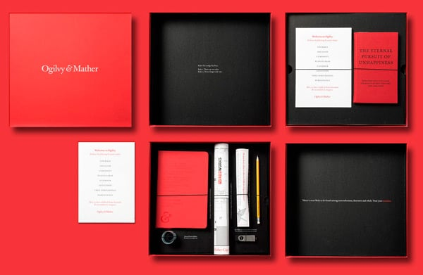 Digital and paper press kit by Ogilvy and Mather