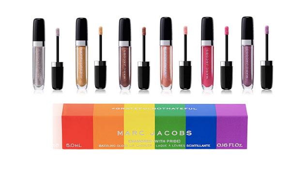 Box arcobaleno per il lip gloss di Mark Jacobs