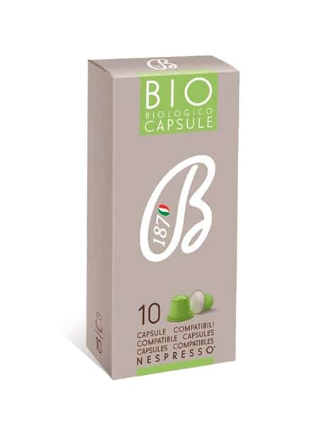 Packaging per capsule caffè bio