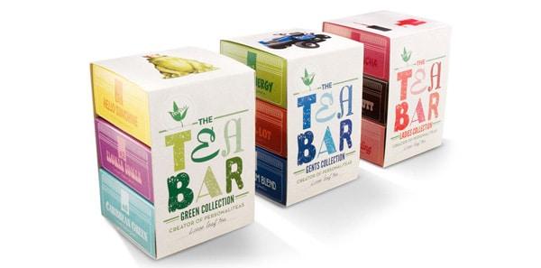 Multi-packaging per bustine tè con fascetta