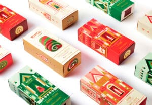 Confezioni natalizie, scatole personalizzate firmate Packly