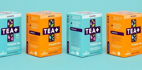 Scatola astuccio lineare per tè