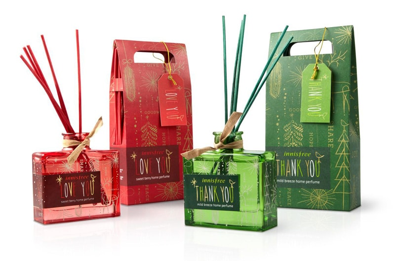 Gable top box  for scented sticks and diffuser