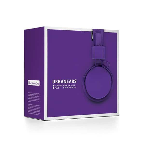 Minimal packaging for headphones
