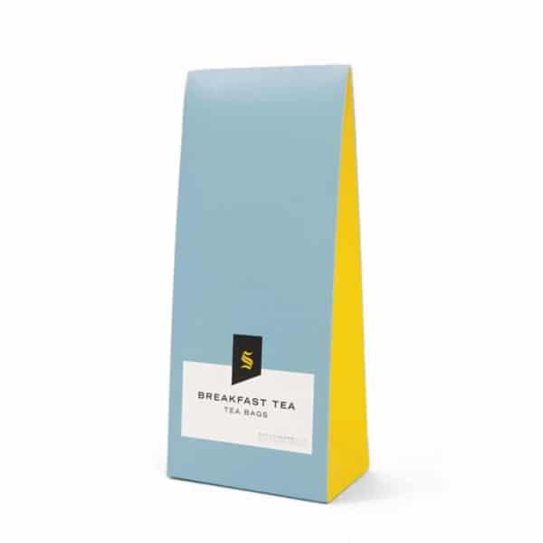 Minimal tea packaging