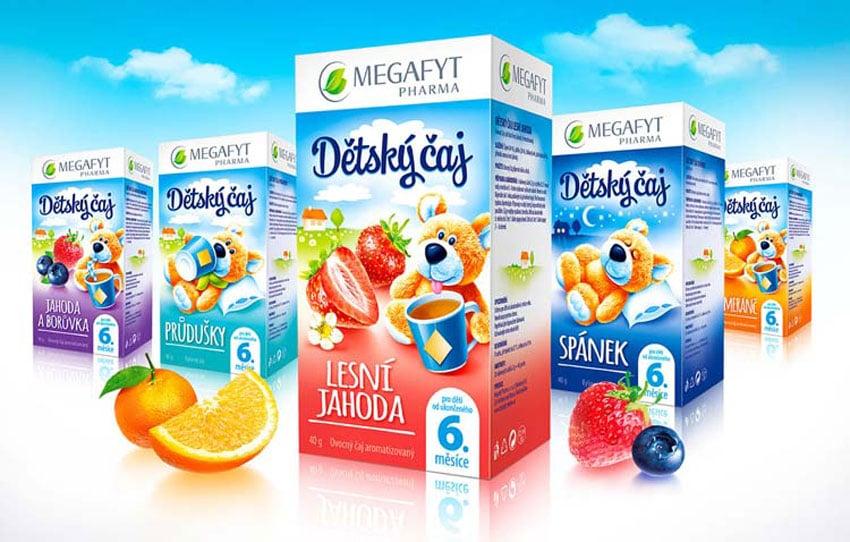 Packaging design for baby medicines