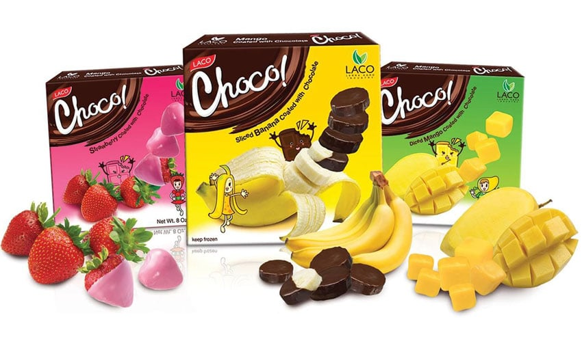 Packaging design for healthy chocolate snacks