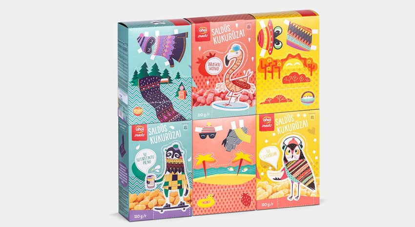 Reusable playful packaging design